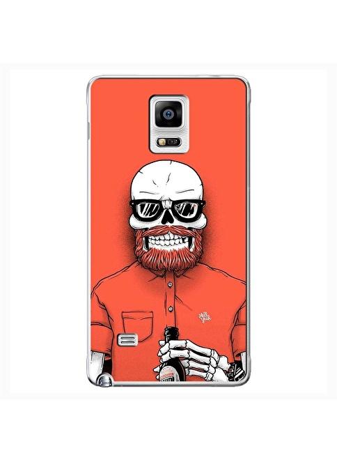 People's Cover Samsung Note 4 Kabartmalı Telefon Kılıfı Renkli